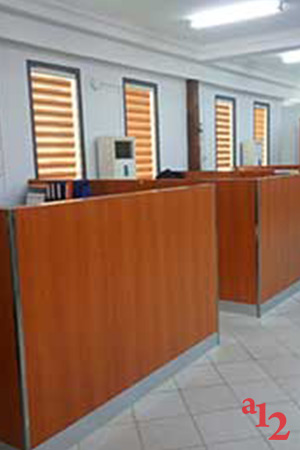 Office Laminate Partition